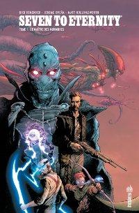 Couverture du comics Seven to Eternity tome 1
