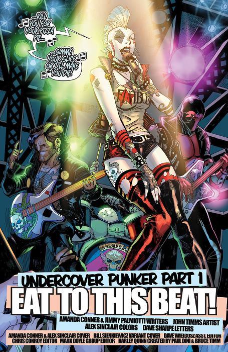 Extrait du comics Harley Quinn Rebirth tome 1