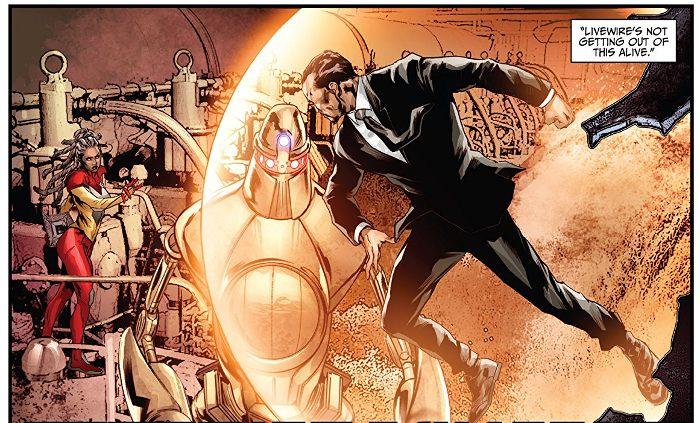 Extrait du comics Imperium