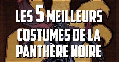 meilleurs costumes Panthère Noire Black Panther