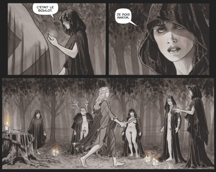 Extrait du comics Black Magick tome 1