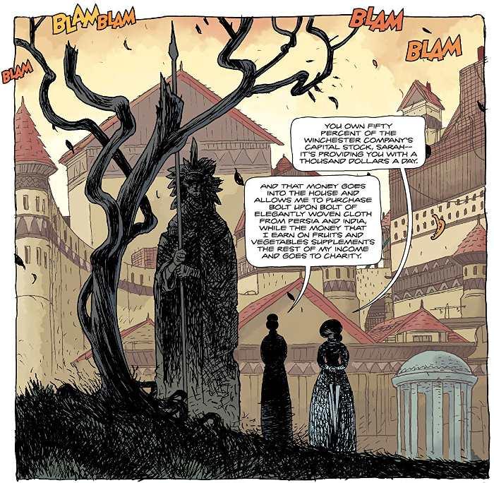 extrait du comics Dans l'Antre de la pénitence