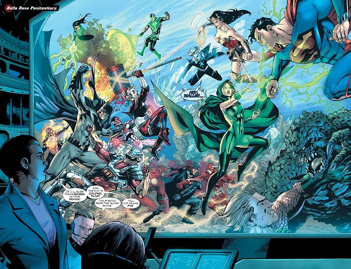 Extrait du comics Justice League VS Suicide Squad