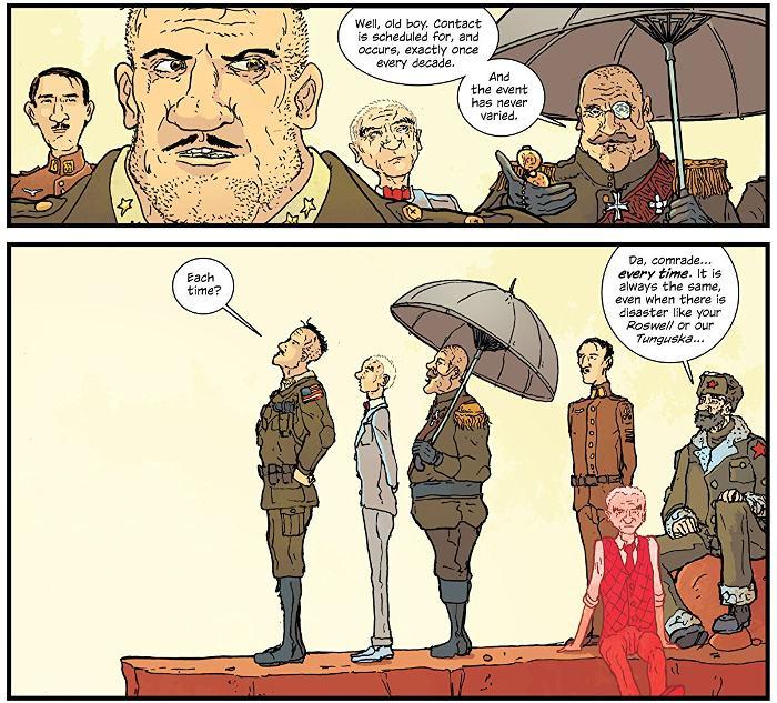 Extrait du comics The Manhattan Projects, tome 1