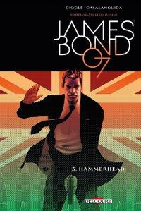 couverture du comics James Bond 007 Hammerhead