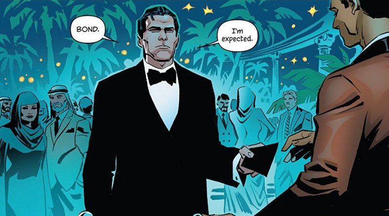comics James Bond 007 Hammerhead
