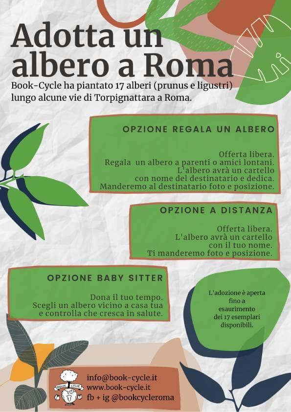 Istruzioni per adottare un albero a Roma.