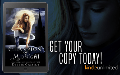 Chronicles of Midnight 2.0 - Champion of Midnight by Debbie Cassidy Promo Graphic 4