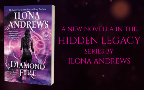 Promo Graphic - Diamond Fire by Ilona Andrews - 1
