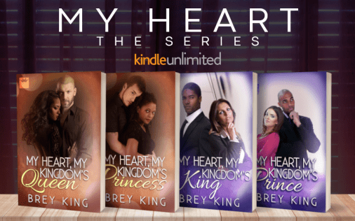 Promo Graphic - My Heart Series by Brey King - 1
