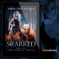 Promo Graphics - Caged 4.0 - Scarred by Amber Lynn Natusch - 1
