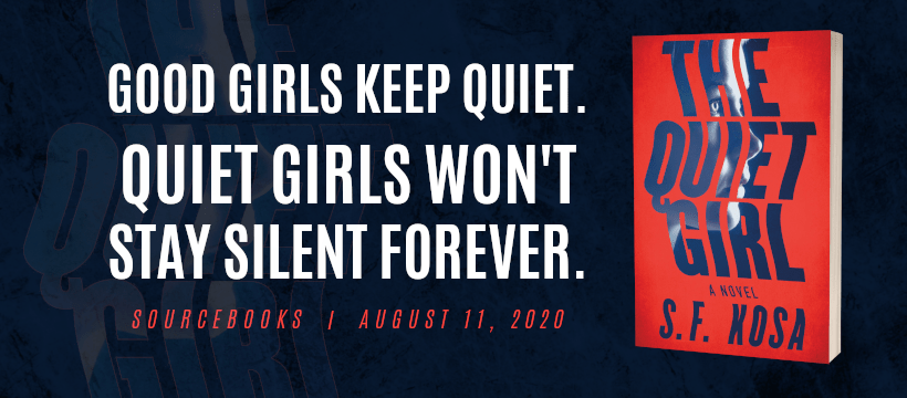 Social Media - Facebook Cover Photo - Preorder - The Quiet Girl by S.F. Kosa