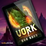 New Release! Check out VORK by steamy alien romance author Ava Ross! Plus a FREE Bonus Book!