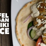 Easy Baked Falafel With Vegan Tzatziki Sauce