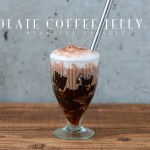 Chocolate Coffee Jelly Drink