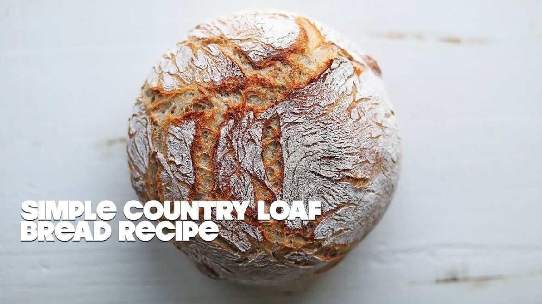 How to make a homemade artisan bread recipe