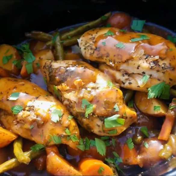 Crockpot chicken recipes - Healthy Slow Cooker