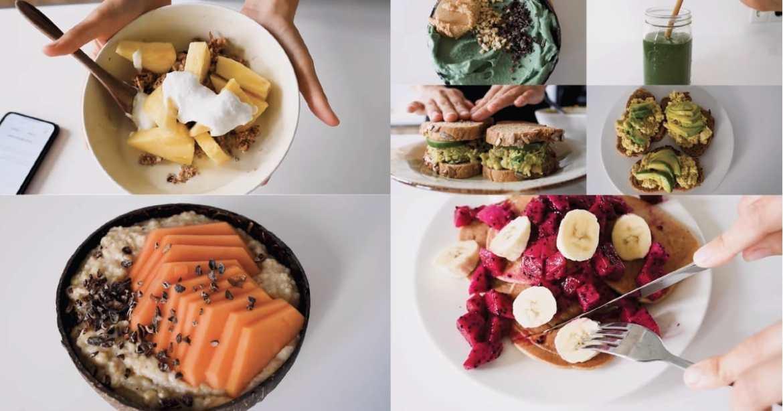Full Week of Healthy Vegan Breakfasts Ideas