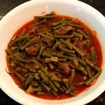 Instant Pot Syrian Green Beans Stew