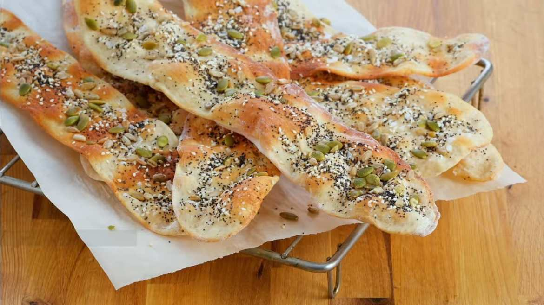 Anna Bakes AMAZING Crispy Lavash Bread