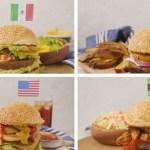 Burgers Around-the-World