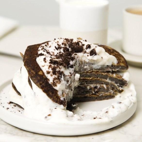 Dessert For Breakfast Flapjack Stacks 3 Ways