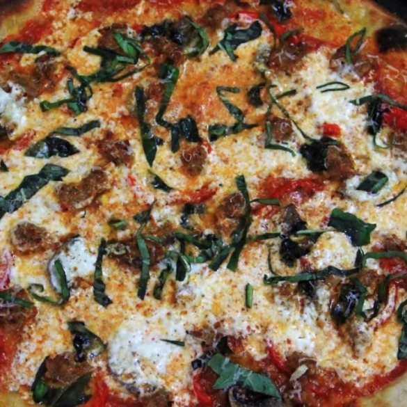 Homemade Pizza Dough & Sauce + Pizza Dough from Scratch