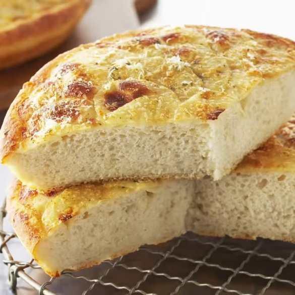 Potato Parmesan Focaccia Made y Anna Olson