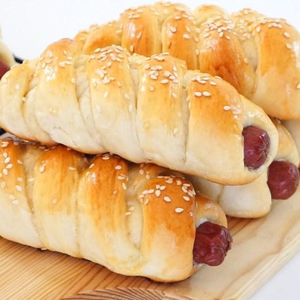 Sausage Bread Rolls