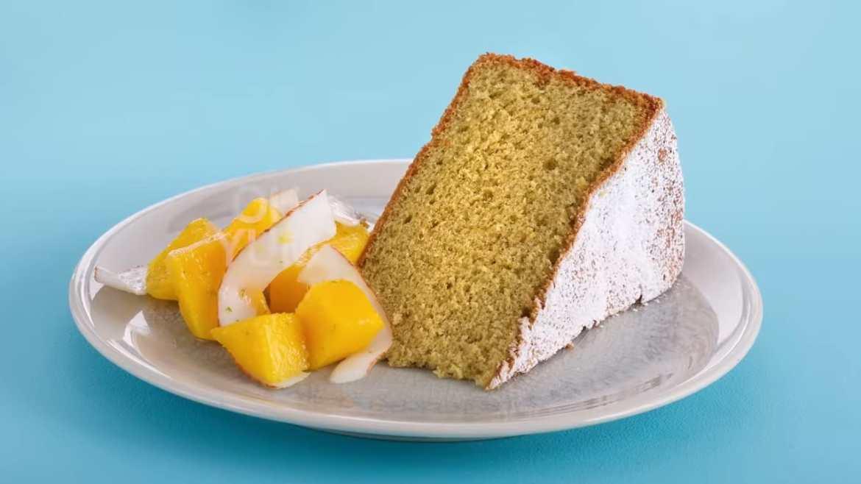 Anna Olson Bakes Green Tea Genoise Sponge Cake!