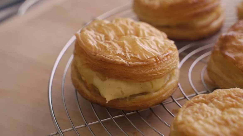 Custard Cream Apple Pie