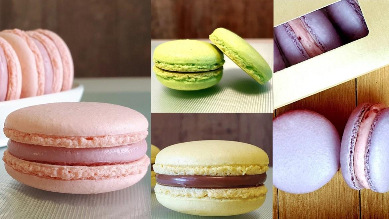 Macarons (4 Recipes) Michael Lim