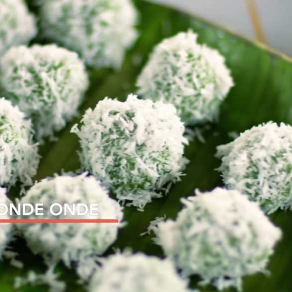 Onde Onde Recipe, made by Chef Wan