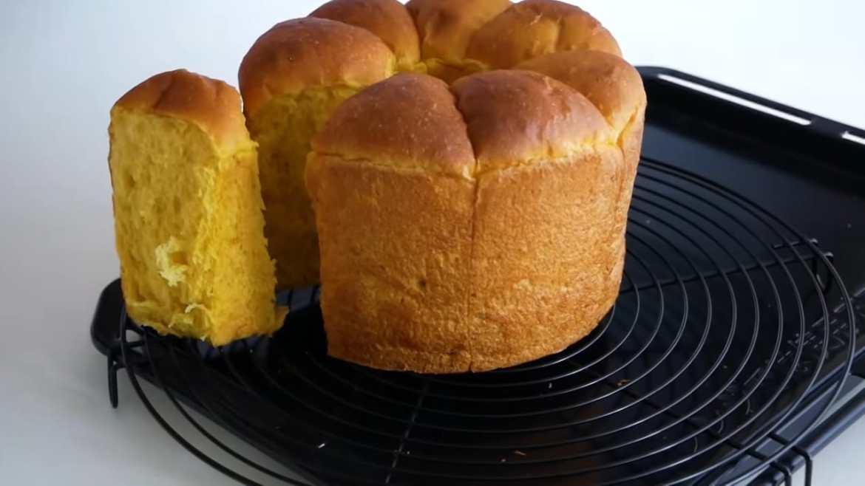 Soft and Fluffy Kabocha Squash Bread