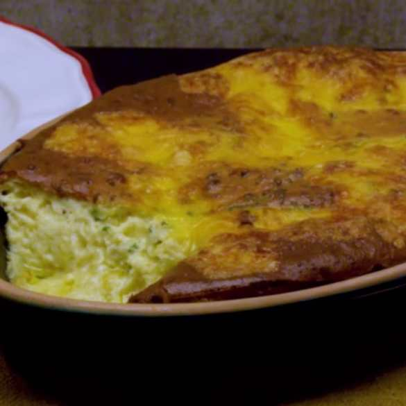 Fast Cheese Soufflé made by jacques pépin