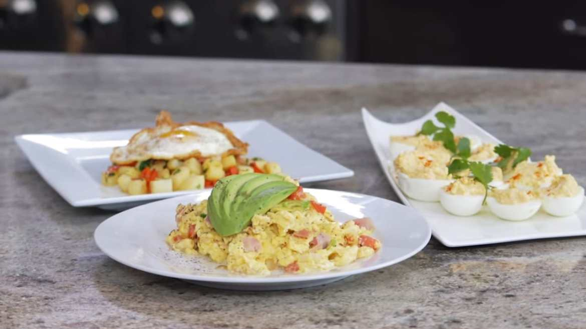 Healthy Egg Recipes (Made by Chef Robert Irvine's - 3 Ways)