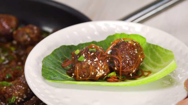 30 MINUTE DINNER | Mongolian Meatballs - SWEET GLAZED MEATBALLS