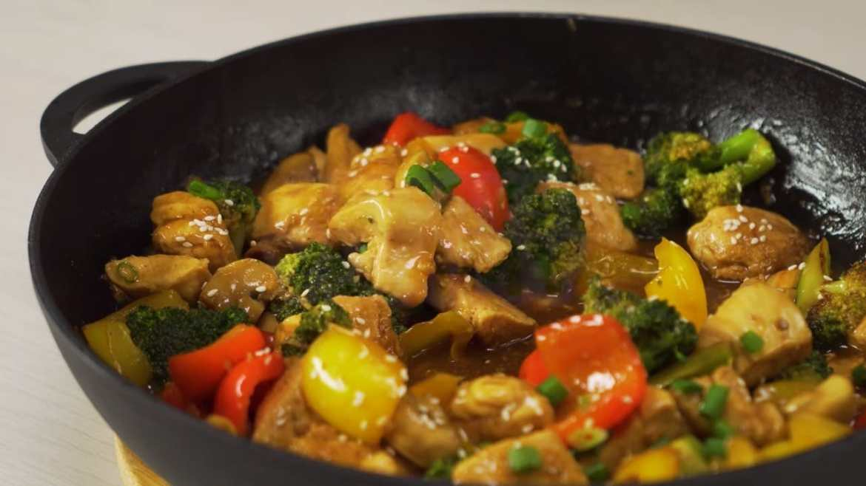 Chinese Style Chicken Stir Fry
