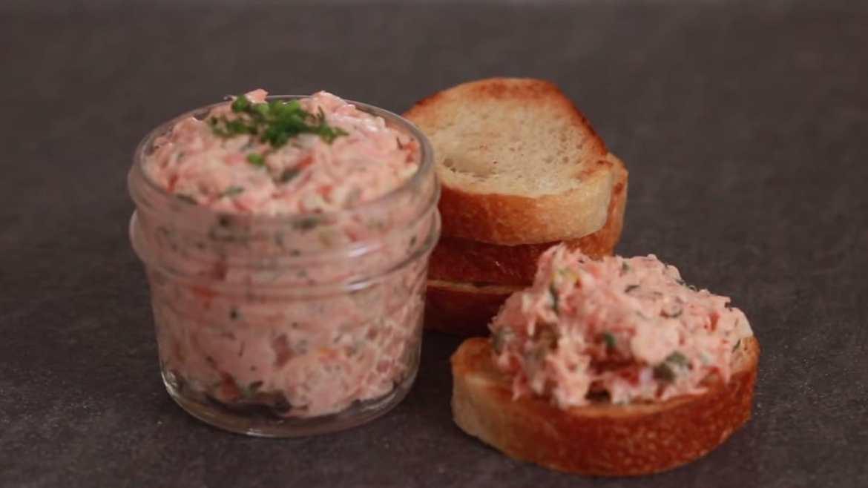 Salmon pate (Best First Fish Dish)