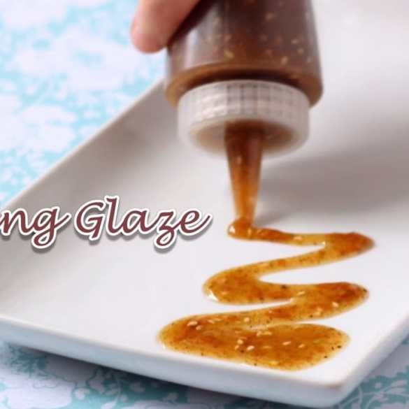 Top Secret Grilling Glaze and Topping