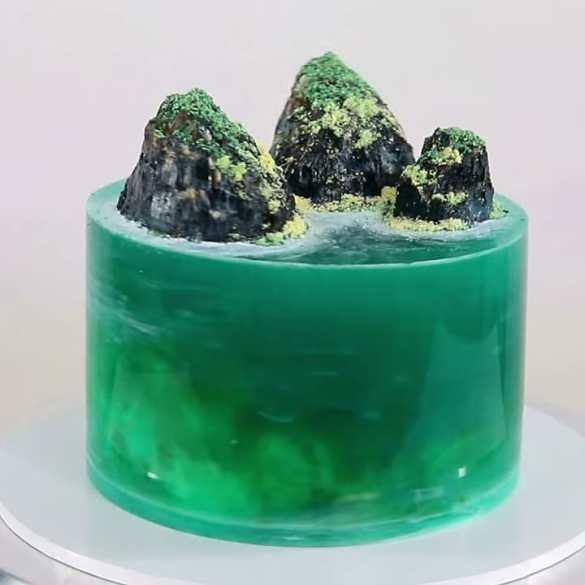 ISLAND JELLY CAKE