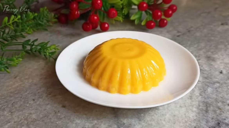 Mango Pudding | No Gelatin, No Agar-Agar | Quick & Easy Mango Dessert