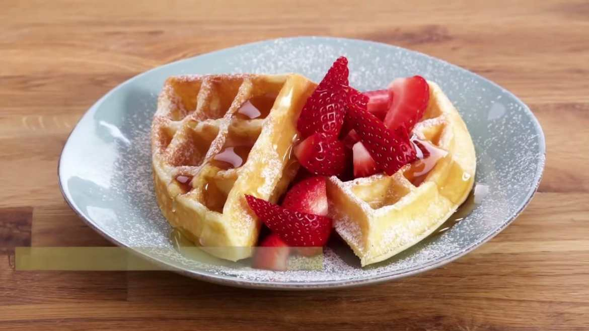 Professional Baker Teaches You How To Make WAFFLES