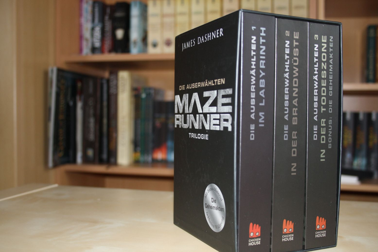 Maze Runner von James Dashner