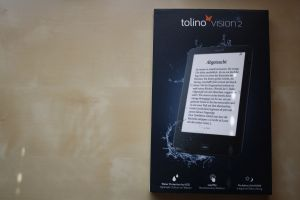 Verpackung des Tolino Vision 2