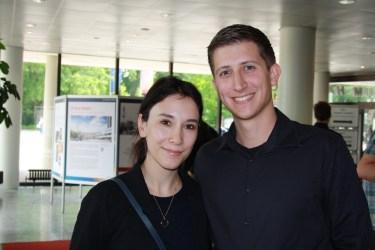 Sibel Kekilli (Darstellerin der Shae in Game of Thrones) und ich auf dem Harbourfront Literaturfestival 2015 in Hamburg