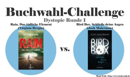 Rain. Das tödliche Element vs. Bird Box. Schließe deine Augen