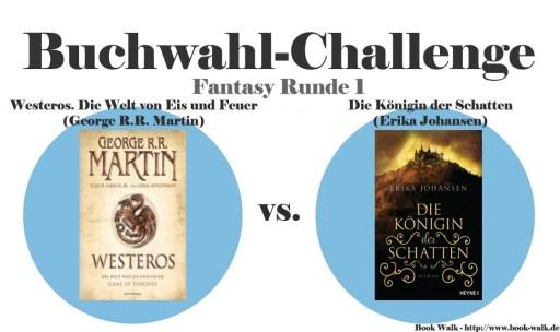 Westeros. Die Welt von Eis und Feuer vs. Die Königin der Schatten