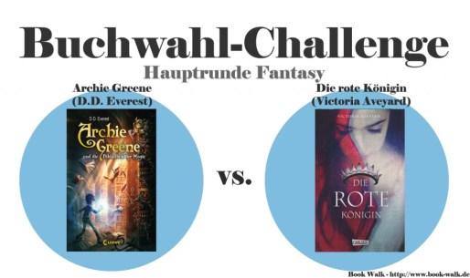 Archie Greene vs. Die rote Königin