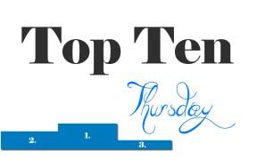 Top Ten Thursday